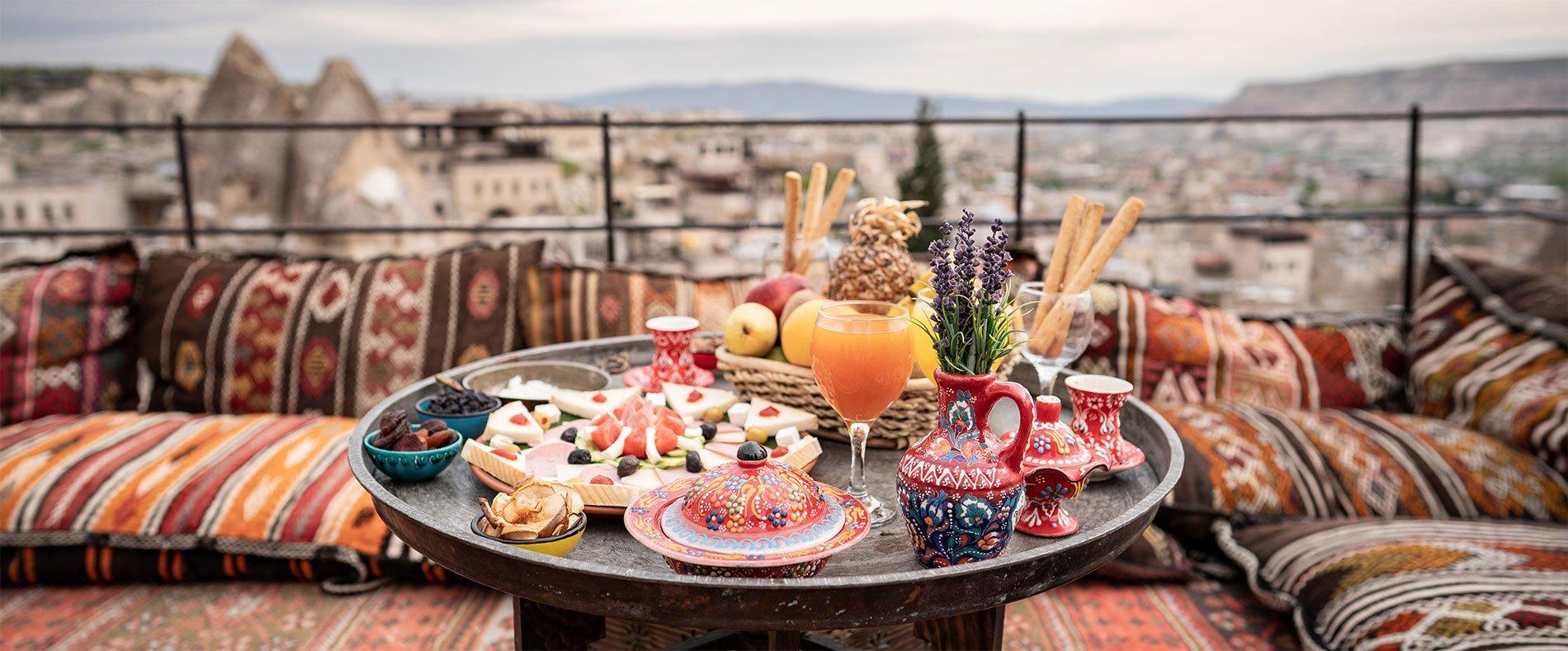 Турецкие напитки и десерты