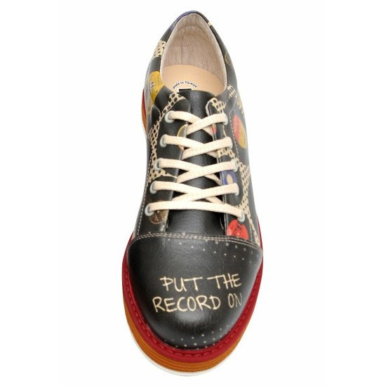 Броги Put the Record on | Broke's Women's Lace-Up Shoes
