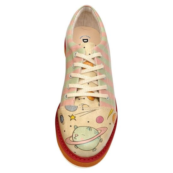 Броги Animal Planets   Broke's Women's Lace-Up Shoes