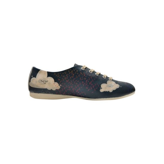 Оксфорды Confetti Rain | Oxford Women's Flat Shoes