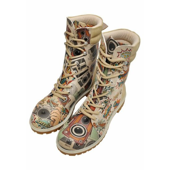 Ботинки высокие Take A Photo | Women's Laced Long Super Boots