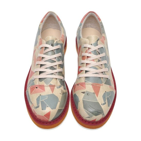 Броги Origami | Broke's Women's Lace-Up Shoes