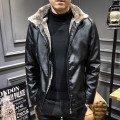 Кожаные куртки с мехом мужские