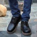 Низкие ботинки мужские