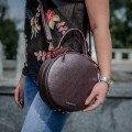 Круглые сумки женские