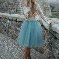Шифоновые юбки женские