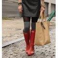 Резиновые сапоги и ботинки женские