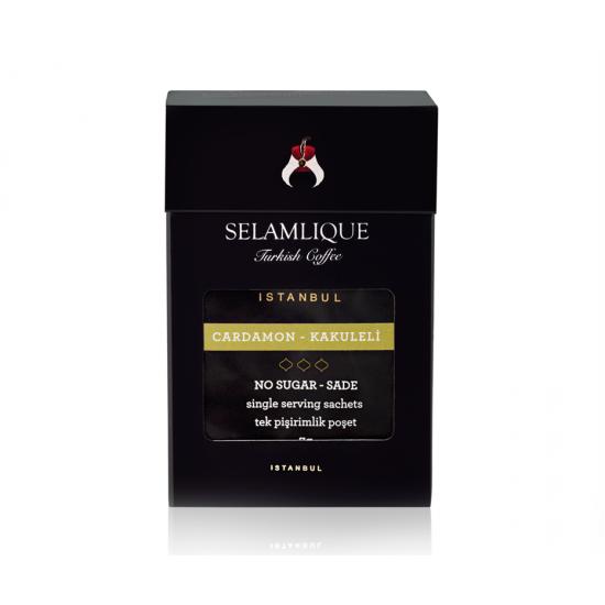 Турецкий кофе с кардамоном Selamlique в пакетиках, 7 гр (7 пакетов)