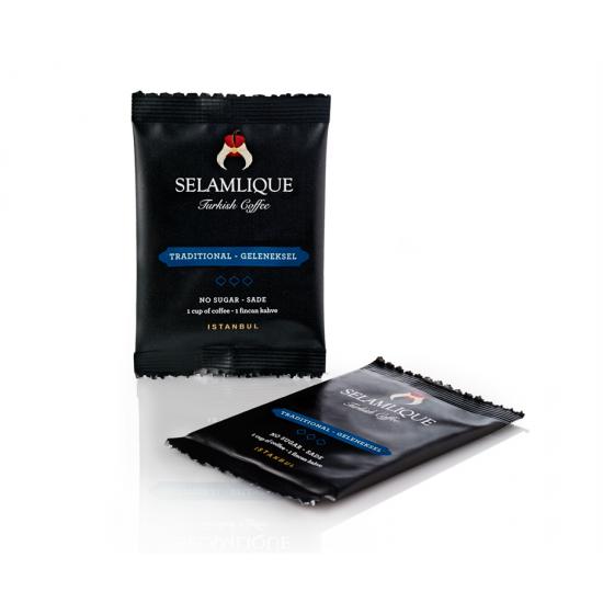 Традиционный турецкий кофе Selamlique в пакетиках, 7 гр (7 пакетов)